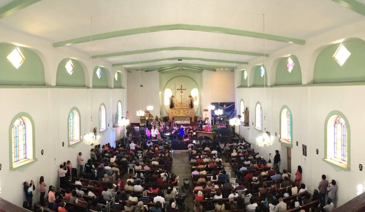 estrella de anís navidad 2014 Iglesia de Santa clara